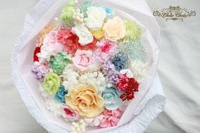 ディズニープロポーズ 花束 フラワーリング 薔薇 プリザーブドフラワー