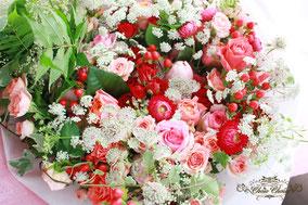 ディズニープロポーズ 花束 薔薇  デザイン 舞浜 花屋