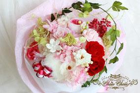 プロポーズ 花束  プリザーブドフラワー  フラワーギフト ディズニー 東京ベイ舞浜ホテル  シュールラメール