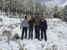 Hermanos Maristas en Tarahumara