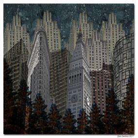 """(c) Divo Santino 2017 """"NYC Monlight"""""""