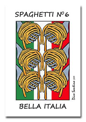 #popart #kunstdruck #artwork #limitiert #divosantino #spaghetti #pasta #nudeln #gabel #italien #italia #essen