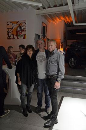 Sabine Bretz, Divo Santino, Werner Bretz