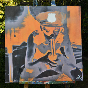 "(c) Divo Santino 2017 ""Police"""