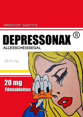 Die Depression ist einer der begehrtesten Volkskrankheiten überhaupt...sehr oft auch durch andere Medikamente als Nebenwirkung ausgelöst. Hier wird richtig Kasse gemacht!