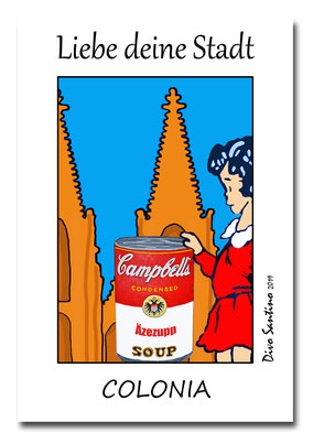 #popart #kunstdruck #artwork #limitiert #divosantino #köln #colonia #cologne #cgn #liebedeinestadt #köln #koeln #dom #cathedrale #dom #veedel #rheinland
