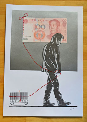 0,60 x 0,42 Divo Santino, Collage (Cologne 2016)