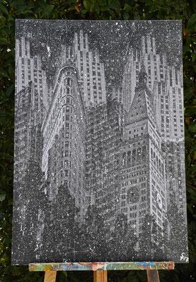"""(c) Divo Santino """"NYC Snow"""""""