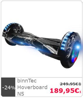 hoverboard kaufen vom hersteller binntec binntec. Black Bedroom Furniture Sets. Home Design Ideas