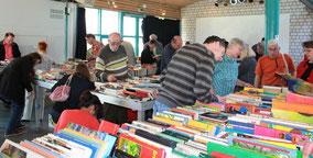 Der Büchermarkt des FÖK - größter Dortmunder Büchermarkt