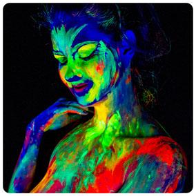 UV-Light UV-Licht Schwarzlicht Nude Photoshoot Fotoshooting CaughtMoments Rastatt Bühl Baden-Baden Achern Rheinmünster