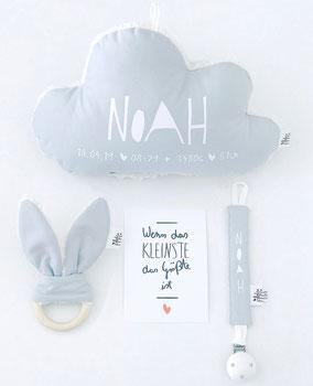 personalisierte geschenke, personalisierte Kissen, Geburtsgeschenke, Geschenk zur Taufe