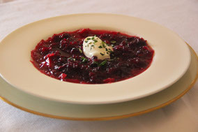 Sopa de remolacha (borsch)