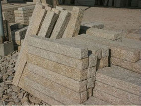 Palisaden Granit Sandstein Basalt