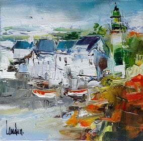 """""""Phare breton"""" - 20x20"""