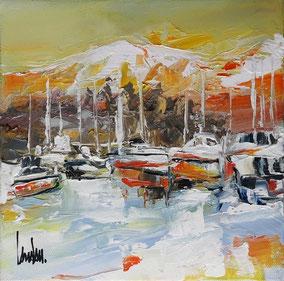 """""""Pause alpine"""" - 20x20"""