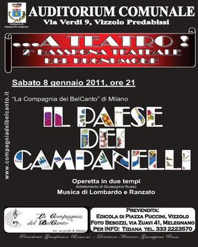 IL PAESE DEI CAMPANELLI - Vizzolo Predabissi, 08/01/11