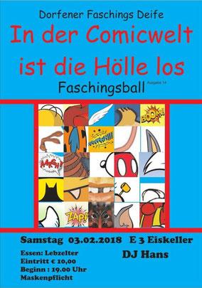 DJ JUAN - Faschingsball in Dorfen im E3 Eiskeller