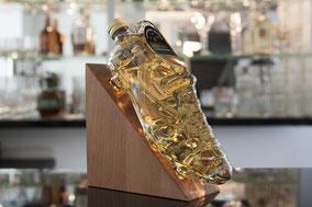Shoe Flasche Whisky Set