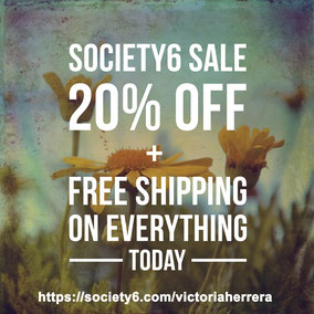 Black Friday in my Society6 shop!!!