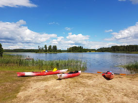 Visit Latvia, kayaking through Latgale lakes