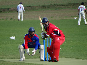 Rohit G scored an undefeated 104 against Kópavogur