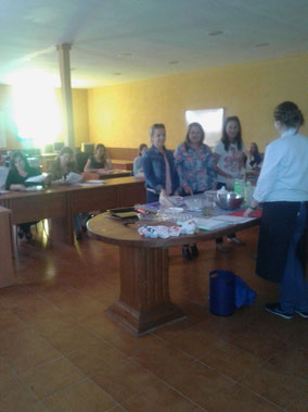 alumnos, curso cocina, villanueva de la fuente, formación, cocina creativa, diputación, ciudad real