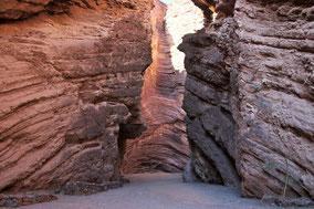 Wunderbare Landschaft: Quebrada de Cafayate