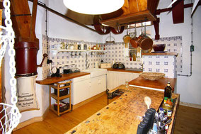 Wohnküche im altem Stil