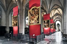 Ausstellung in der Liebfrauenkathedrale zu Antwerpen