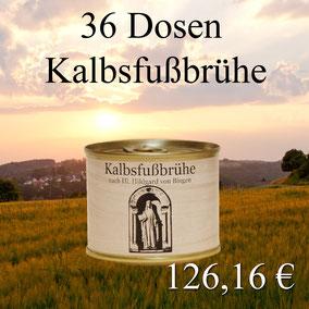 Hilfe bei Arthrose / Kalbsfußbrühe nach Hildegard von Bingen