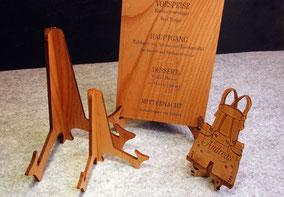 Hochzeit Holz Einladung