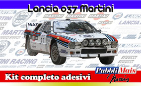 lancia rally 037 martini kit adesivi