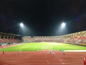 Fußball Erfurt Steigerwaldstadion RWE Stadion Flutlicht