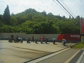磐越道 小野IC 近くのGSで2回目の給油です