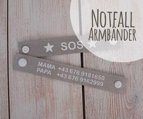 Notfallarmband Kinder Kleinkinder Notfall Urlaub Reisen Unterwegs Notfall Armband Telefonnummer Nummer SOS Eltern Mama Papa Oma Opa