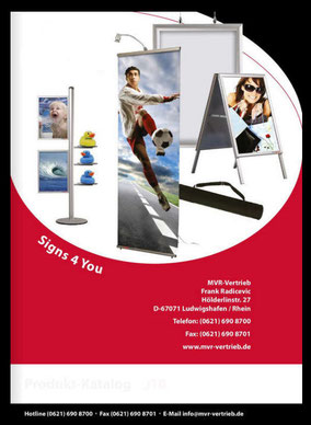 Katalog Displaysysteme - Highlight your message
