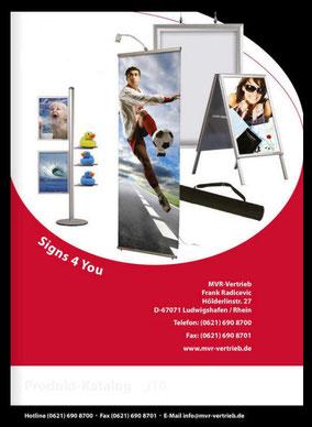 Katalog Displaysysteme - Highlight your message