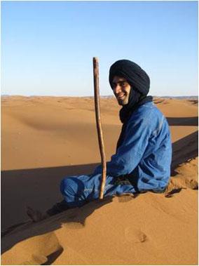 Khalid Boudouar, Wüstenreise Marokko, Yogastudio Raum der Achtsamkeit in Rupperswil bei Aarau