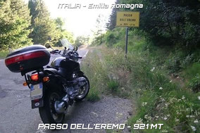 11) PASSO DELL'EREMO - 921 mt