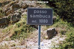 12) PASSO DELLA SAMBUCA - 1080 mt