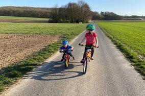 Radfahren in der Region
