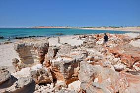 Cape Leveque,Kooljaman,Dampier Peninsula,Dampier,Western Australia,Westaustralien,Australia,Australien,Beach Shelter