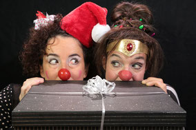 Weihnachten Clown Theater