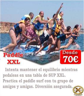 paddle surf en la playa El Puerto de Santa María