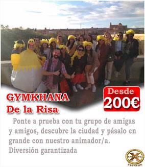 Gymkhana de la risa en Algeciras