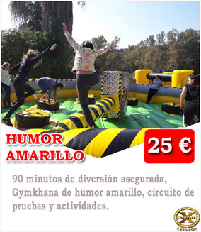 Humor amarillo en los caños de meca (Barbate)