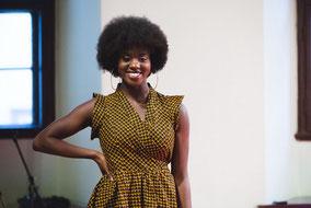 afrikanische Mode Kleid