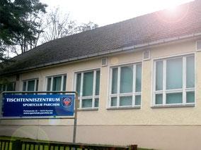 """Das Tischtenniszentrum wird auch für den """"REHA – Sport"""" genutzt"""