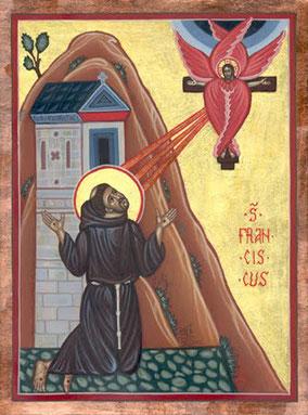 Clicca per conoscere la storia delle stigmate di san Francesco